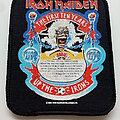 Iron Maiden - Patch -  Iron Maiden the first ten years patch 2 --1990 8 x 10 cm brandnew