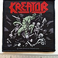 Kreator - Patch - Kreator pleasure to kill 1990 official patch