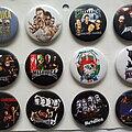 Metallica - Pin / Badge - Metallica buttons 4.4 cm  --  b80