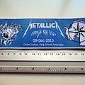 METALLICA ltd. strip patch 134 new 5.5x19 cm
