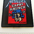 Metallica - Patch - Metallica  cap'ns krunch patch 191