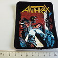 Anthrax spreading the disease  1986 patch a4