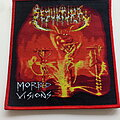 Sepultura - Patch - Sepultura morbid visions red border patch 29