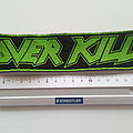 Overkill - Patch - Overkill strip 4.5 x 19 cm  patch  817  used