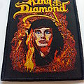 King Diamond - Patch - King Diamond patch k163