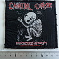 Cannibal Corpse vintage butchered at birth patch used487 official 1992