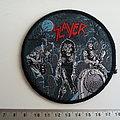 SLAYER  1986 live undead   vintage 1986 patch 63 new 9.5 cm