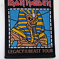 Iron Maiden patch 229  legacy of the beast tour