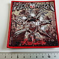 Helloween 7 sinners patch h70 red border