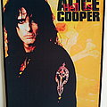 Alice Cooper printed backpatch bp537- 29.5x35x25 cm patch