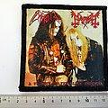 Mayhem  patch m340 -- 10 x 10.5 cm printed bd