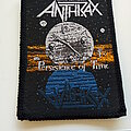 Anthrax - Patch - Anthrax  original 1990   Persistence of time patch a305