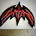 Satan - Patch - Satan shaped patch s36