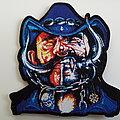 Lemmy - Patch -   Lemmy Kilmister shaped patch  strictly ltd edition of 60 copys-- motorhead