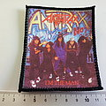 ANTHRAX  i'm the man 80's  patch a196    7.5x9   cm