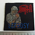 DEATH  leprosy patch d41 new 10.5 x 10 cm