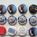 Nirvana - Pin / Badge - Nirvana + Pink Floyd buttons 3.1 cm b56