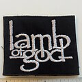 Lamb Of God - Patch - Lamb Of God  patch  813 used