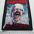 Scorpions - Patch -   Scorpions blackout patch s359