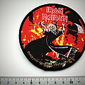 Iron Maiden - Patch - Iron Maiden Bring your daughter to........ patch 265 ltd.gold + silver print no...