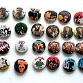 Jimi Hendrix - Other Collectable - various buttons b1