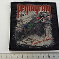 Pentagram patch p93--- 9.5 X 1o cm
