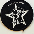 The Sisters Of Mercy - Patch - The Sisters Of Mercy old 80's patch s269