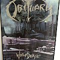 OBITUARY  world demise back patch 1993 new bp132 backpatch official
