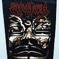 Sepultura Aztec Mask  official 1992 backpatch bp230 --30x27x37 cm  patch