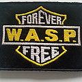 W.A.S.P. - Patch -  W.A.S.P. forever free patch w138 --7.5x10 cm