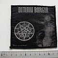 Dimmu Borgir - Patch - Dimmu Borgir  official 2001 patch used733