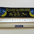 Iron Maiden fear of the dark  strip patch 58 official 2011  new size 5. x 18  cm