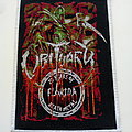 Obituary  patch  20 years of florida death metal patch 068   size 9x13 cm