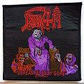 Death scream bloody gore patch d208