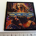 Doro - Patch - Doro fight printed patch d95