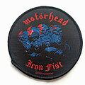 Motörhead - Patch - Motorhead 2010 Iron fist official patch