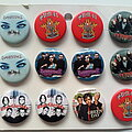 In Flames - Pin / Badge - various new buttons 3.1 cm   b64