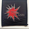 The Clash - Patch -  The Clash 80's patch c128 new 7x8 cm silver print