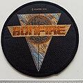 Bonfire - Patch - Bonfire official 1990 patch b15
