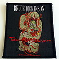 Bruce Dickinson - Patch - Bruce Dickinson 1990 patch 97 tattoo millionaire-iron maiden