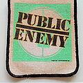 Public Enemy - Patch - Public Enemy  official patch  1986  -- p158