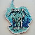 Metallica - Patch - Metallica  shaped freezer em all patch 17