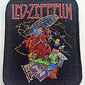 Led Zeppelin - Patch - Led Zeppelin  Wizard official 1983 tour patch 78