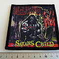 Danzig printed patch 64  ---  10 x10.5 cm satan's child