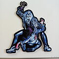 Iron Maiden - Patch - Iron Maiden Hooks In You cut out patch 301