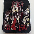 Slayer - Patch - Slayer 1987 Reign In Blood patch 11  white background