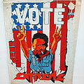 Extreme Vote 1991 backpatch bp 156-- 30 x27x 37 cm