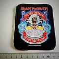 Iron Maiden  the first ten years patch 2  --1990    8 x 10 cm brandnew
