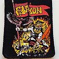 Saxon - Patch - Saxon early 80's patch 44