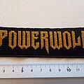 Powerwolf - Patch - Powerwolf  patch used 830